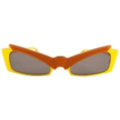 New Vintage Alain Mikli CM85 510 Grace Jones  France Sunglasses 1980's