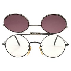 New Vintage Anglo American Optical M85 Flip Top Sunglasses 1960'S