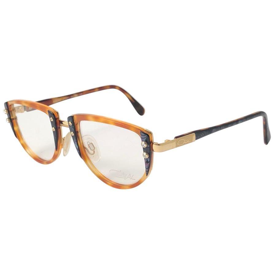 New Vintage Cazal 332 Tortoise Frame Reading 1990's Sunglasses