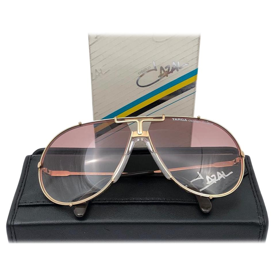 New Vintage Cazal 901 Col 97 Translucent Frame Collectors Item 1980's Sunglasses