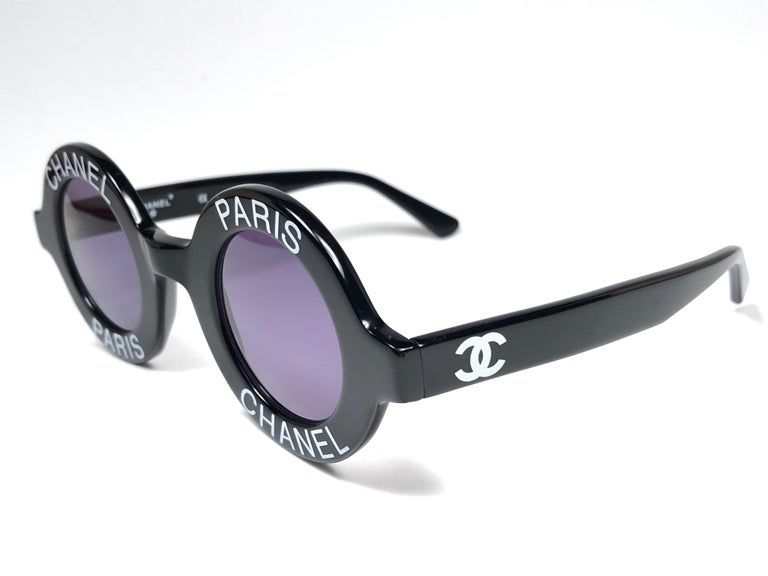 Women's or Men's New Vintage Chanel Iconic Round