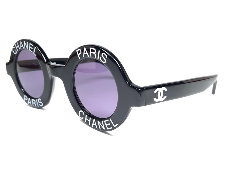 New Vintage Chanel Iconic Round