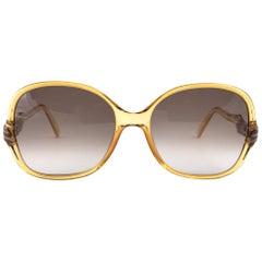 New Vintage Christian Dior 2305 Oversized Brilliants Sunglasses 1970 Austria