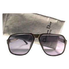 New Vintage Christian Dior 2584 Oversized Sunglasses 1970's Austria