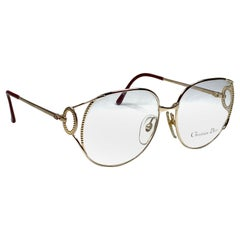 New Vintage Christian Dior 2788 Prescription Gold Reading Glasses