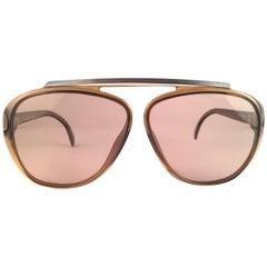New Vintage Christian Dior Monsieur 2059 60 Light Lenses 1970 Sunglasses