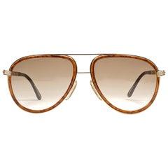 New Vintage Christian Dior Monsieur Large 2526 60 Sunglasses 1970's Austria