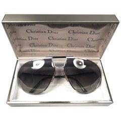 New Vintage Christian Dior Monsieur Silver 2151 Optyl Germany Sunglasses