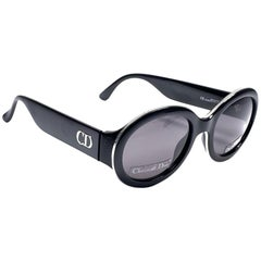"New Vintage Christian Dior "" Rondior "" 97C Amber Sunglasses 1990's Austria"