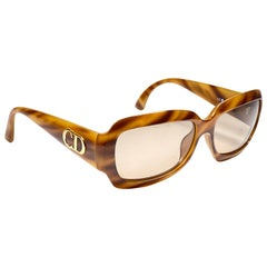 New Vintage Christian Dior Tortoise 2975 11 Sunglasses 1990's Austria