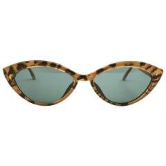 New Vintage Christian Lacroix Cat Eye 1980´s Austria Sunglasses