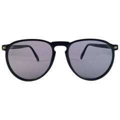 New Vintage Dior Monsieur 2315 Black 1970's Sunglasses Made in France