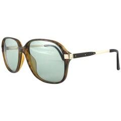 New Vintage Dunhill 6047 Translucent Oversized Sunglasses France