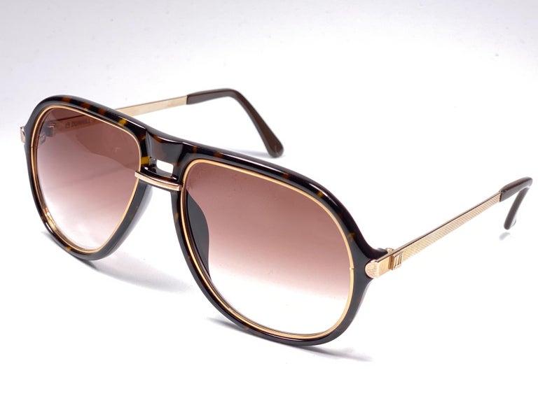 Women's or Men's New Vintage Dunhill 6085 Oversized Camouflage Lenses Sunglasses France  For Sale