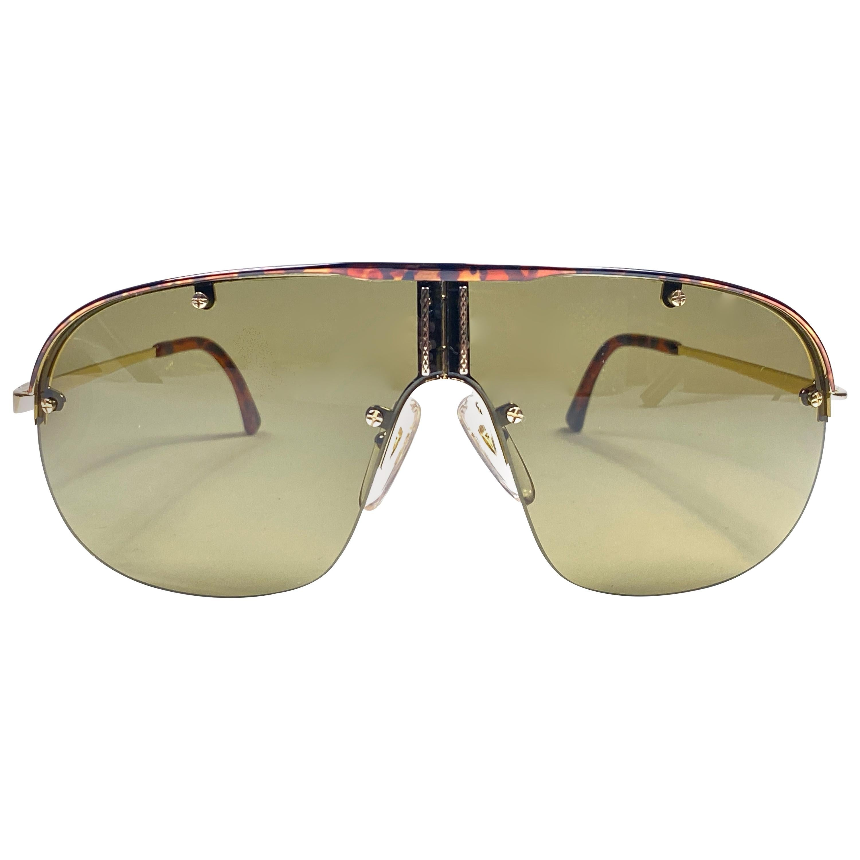 New Vintage Dunhill 6102 Tortoise Details Frame Aviator Sunglasses France
