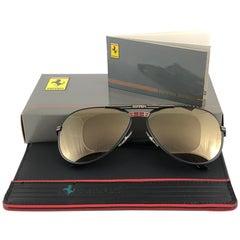 New Vintage Ferrari F13 Mirror Lenses 1980 Made in Italy Sunglasses