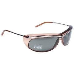 New Vintage Gianfranco Ferré GFF115 Wrap Round 1990  Italy Sunglasses