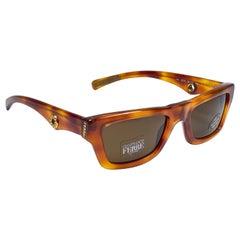 New Vintage Gianfranco Ferré GFF161 Tortoise & Gold 1990  Italy Sunglasses