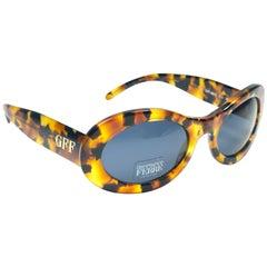 New Vintage Gianfranco Ferré GFF325 Tortoise & Gold 1990  Italy Sunglasses