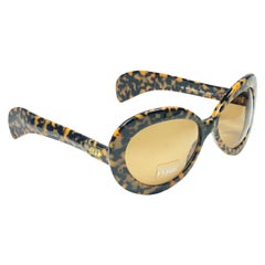 New Vintage Gianfranco Ferré GFF330 Tortoise & Gold 1990  Italy Sunglasses