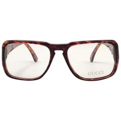 New Vintage Gucci Tortoise rx 1990's Made in Italy