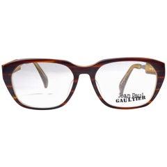 New Vintage Jean Paul Gaultier 55 1071 Prescription Tortoise Japan Sunglasses