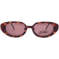New Vintage Jean Paul Gaultier 56 205 Magnetic Tortoise Japan Sunglasses