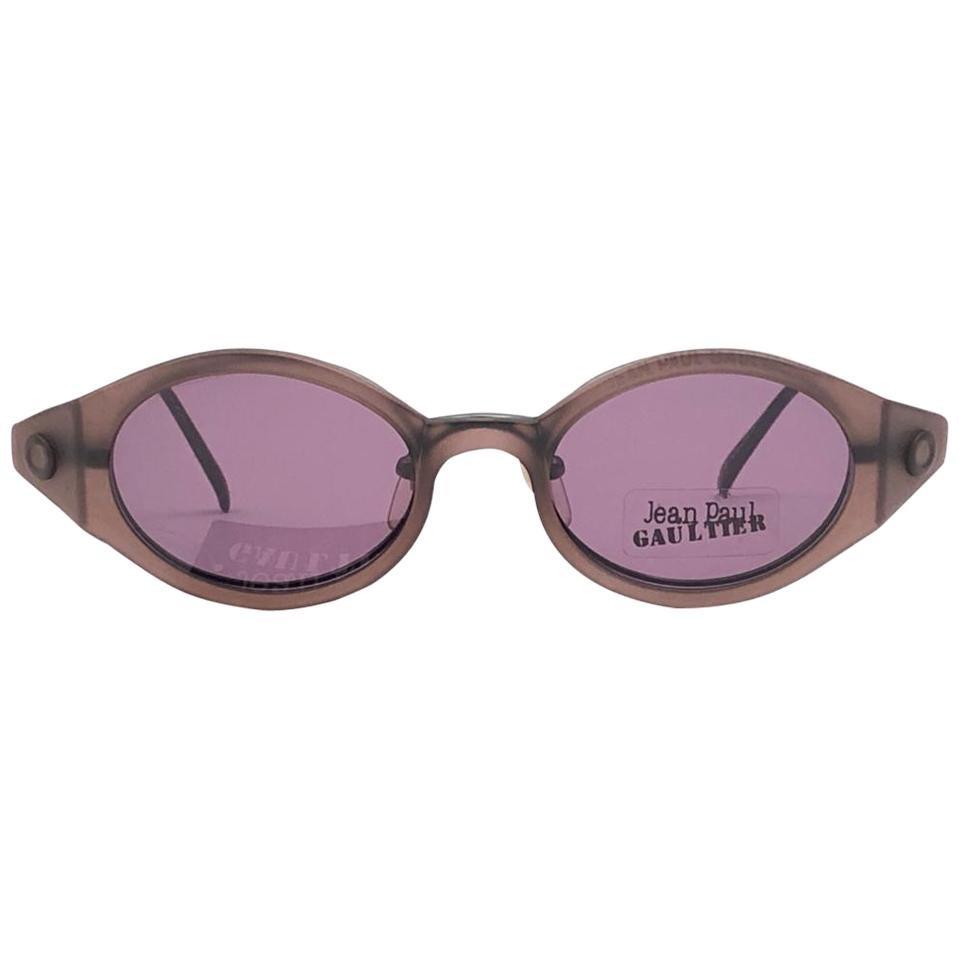 New Vintage Jean Paul Gaultier 56 7202 Magnetic Tortoise Japan Sunglasses