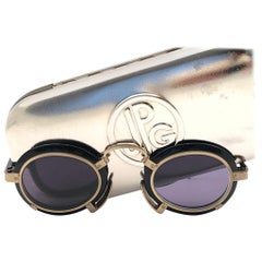 New Vintage Jean Paul Gaultier 58 1273 Miles Davis Sunglasses Made in Japan