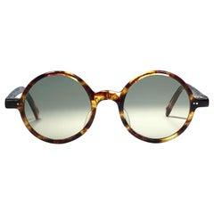 New Vintage Jean Paul Gaultier Junior 58 0072 Small Round Leon Japan Sunglasses