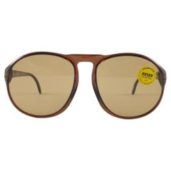 New Vintage Marwitz Zeiss Oversized Brown Lens Made in Germany 1970 Sunglasses