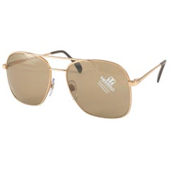 New Vintage Menrad Old Gold Oversized Made in Germany 1970 Sunglasses