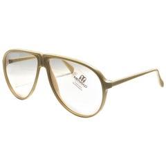 New Vintage Menrad Oversized Changeable Lenses Germany 1970 Sunglasses
