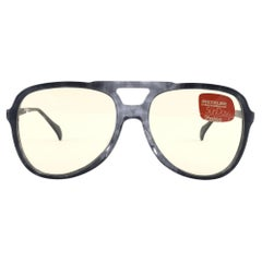 New Vintage Metzler 2880 Translucent Marbled Sunglasses Made in Germany 1980's