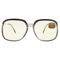 New Vintage Metzler 2900 Translucent Sunglasses Made in Germany 1980's