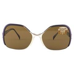 New Vintage Metzler Zeiss 870 Umbramatic 85 Sunglasses West Germany 80's