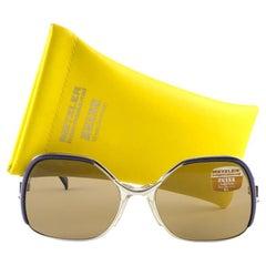 New Vintage Metzler Zeiss 870 Umbramatic 65 Sunglasses West Germany 80's