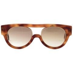 New Vintage Montana 560 Tortoise & Gold Handmade in France Sunglasses 1990