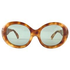 New Vintage Montana 581 Oval Tortoise Handmade in France Sunglasses 1990