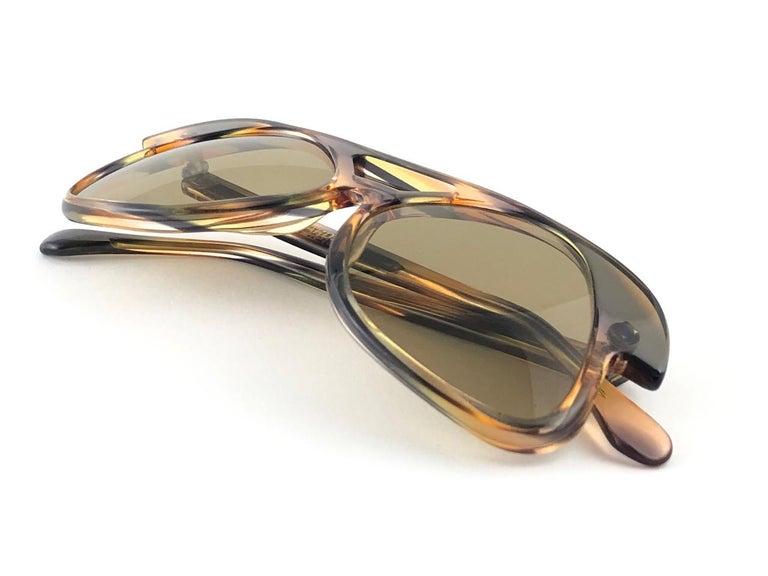 Women's New Vintage Pierre Cardin C27 Ultra Rare Medium 1960's Sunglasses For Sale