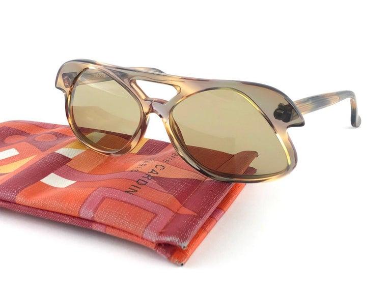 New Vintage Pierre Cardin C27 Ultra Rare Medium 1960's Sunglasses For Sale 1