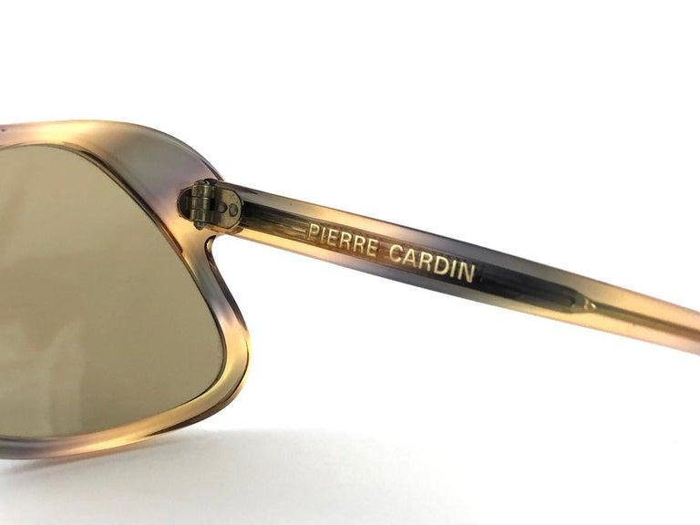 New Vintage Pierre Cardin C27 Ultra Rare Medium 1960's Sunglasses For Sale 3