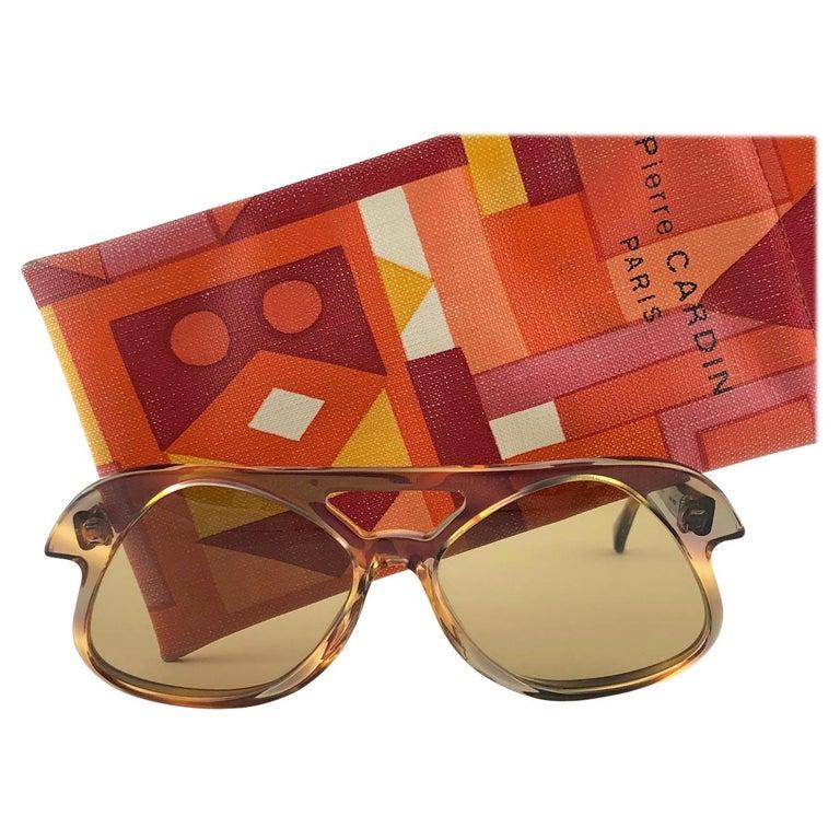 New Vintage Pierre Cardin C27 Ultra Rare Medium 1960's Sunglasses For Sale