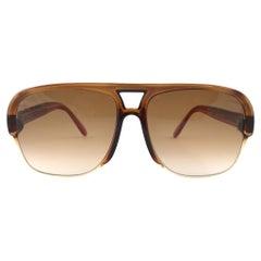 New Vintage Pierre Cardin Oversized 7008 CAVALIER  1970's Sunglasses