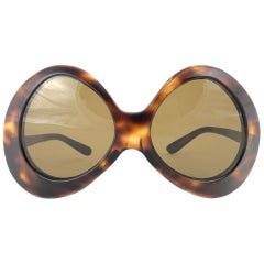 New Vintage Pierre Cardin Oversized Avantgarde Collector Item 1960's Sunglasses