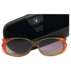 New Vintage Playboy 4560 Translucent Optyl Sunglasses Made in Austria
