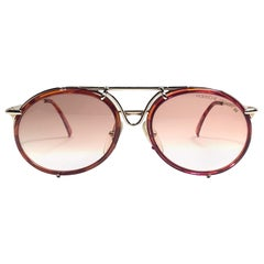 New Vintage Porsche Design By Carrera 5661 Tortoise Large Sunglasses Austria