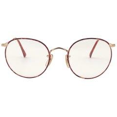 New Vintage Ralph Lauren Classic Oval Yg79 Tortoise RX 1990 Sunglasses
