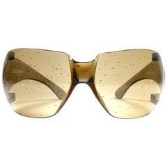 New Vintage Rare Alain Mikli Bubble Mask Made in France Sunglasses 1988