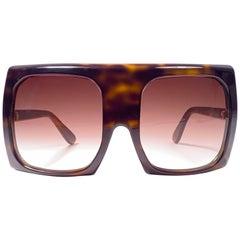 New Vintage Rare Pierre Cardin Mask Tortoise 1960's sunglasses